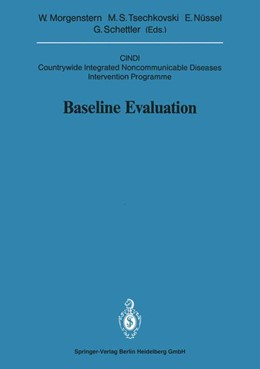 Abbildung von Morgenstern / Tsechkovski / Nüssel / Schettler | Baseline Evaluation | 1991 | CINDI Countrywide Integrated N... | 1991 / 1991/3