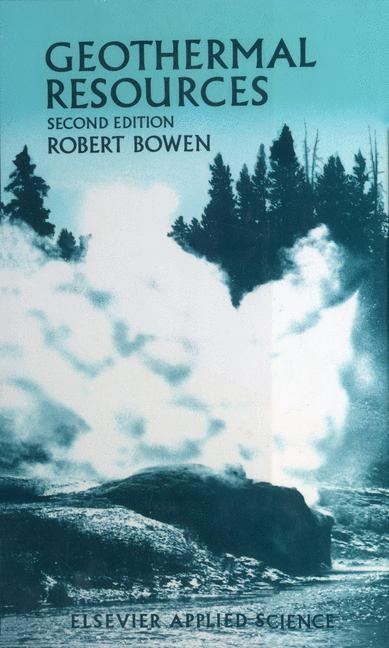 Geothermal Resources | Bowen, 2011 | Buch (Cover)