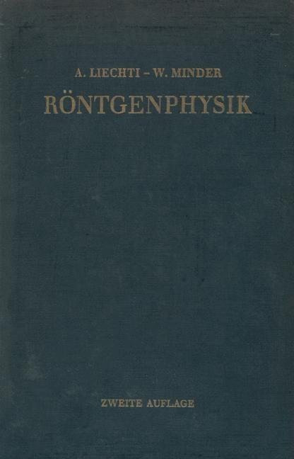 Röntgenphysik | Liechti, 2012 | Buch (Cover)
