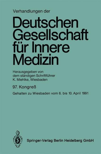 Verhandlungen der Deutschen Gesellschaft für Innere Medizin, 1992 | Buch (Cover)