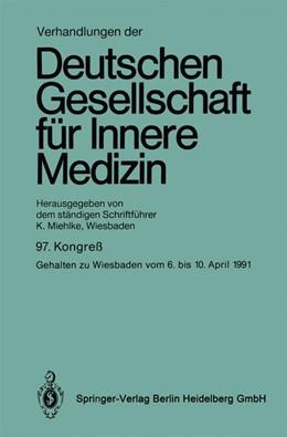 Abbildung von Verhandlungen der Deutschen Gesellschaft für Innere Medizin | 1992 | 97