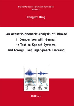 Abbildung von Ding | An Acoustic-phonetic Analysis of Chinese in Comparison with German in Text-to-Speech Systems and Foreign Language Speech Learning | 1. Auflage | 2013 | 67 | beck-shop.de