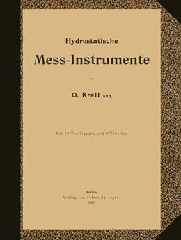 Abbildung von Krell | Hydrostatische Mess-Instrumente | 1897