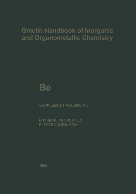 Be Beryllium | Bär / Berg / Czack / Gras / Koch-Bienemann, 2013 | Buch (Cover)