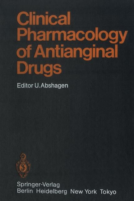 Clinical Pharmacology of Antianginal Drugs | Abshagen, 2011 | Buch (Cover)