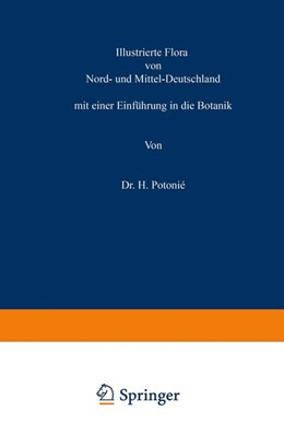 Abbildung von Potonié   Illustrierte Flora von Nord- und Mittel-Deutschland   1889   mit einer Einführung in die Bo...