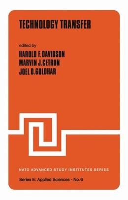 Abbildung von Davidson / Cetron / Goldhar | Technology Transfer | 2011 | 6