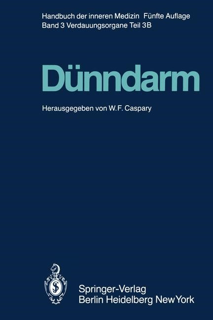 Dünndarm B | Bommer / Caspary / Classen, 2011 | Buch (Cover)