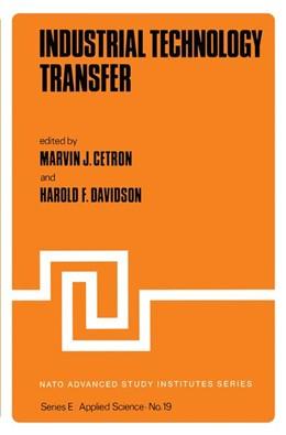 Abbildung von Cetron / Davidson | Industrial Technology Transfer | 2011 | 19