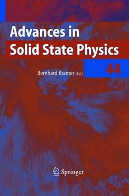 Abbildung von Kramer | Advances in Solid State Physics | 2013 | 44
