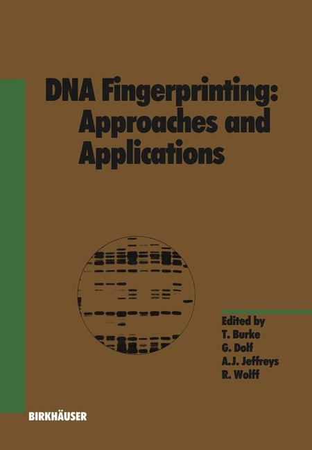 Abbildung von Dolf | DNA Fingerprinting: Approaches and Applications | 2012