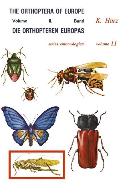 Abbildung von Harz | Die Orthopteren Europas II / The Orthoptera of Europe II | 2011