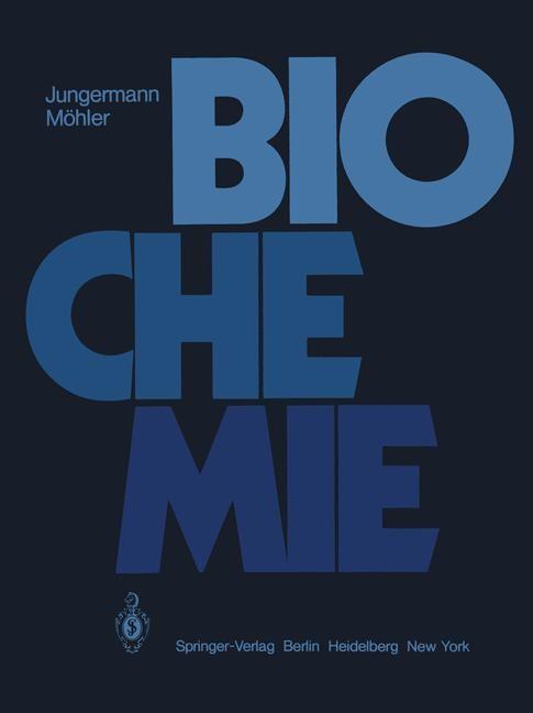 Biochemie | Jungermann / Möhler, 2011 | Buch (Cover)