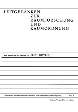 Abbildung von Leitgedanken Zur Raumforschung und Raumordnung | 1970 | Eine Auswahl aus den Arbeiten ... | 9