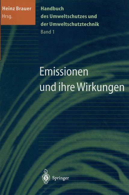 Handbuch des Umweltschutzes und der Umweltschutztechnik | Brauer, 2013 | Buch (Cover)