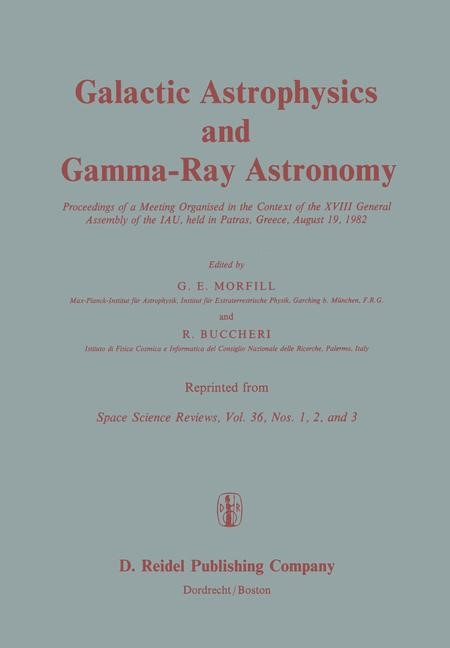 Galactic Astrophysics and Gamma-Ray Astronomy | Morfill / Buccheri, 2011 | Buch (Cover)
