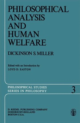 Abbildung von Easton / Miller | Philosophical Analysis and Human Welfare | 2011 | Selected Essays and Chapters f... | 3
