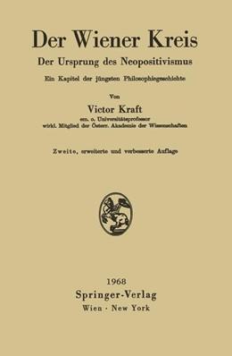 Abbildung von Kraft | Der Wiener Kreis | 1968 | Der Ursprung des Neopositivism...