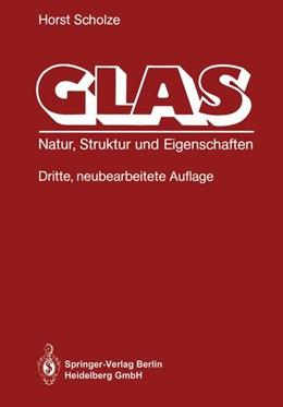 Abbildung von Scholze   Glas   2013   Natur, Struktur und Eigenschaf...