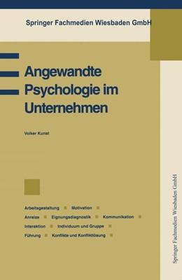 Abbildung von Angewandte Psychologie im Unternehmen | 1994 | 1994 | Betriebspsychologie, Arbeitsge...