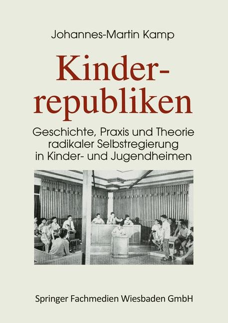 Kinderrepubliken   Kamp, 1995   Buch (Cover)