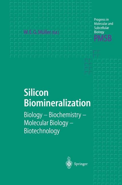 Silicon Biomineralization | Müller, 2012 | Buch (Cover)