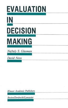 Abbildung von Glasman / Nevo | Evaluation in Decision Making | 2011 | The case of school administrat... | 19