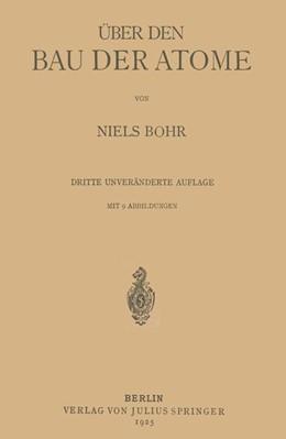Abbildung von Bohr | Über den Bau der Atome | 1925