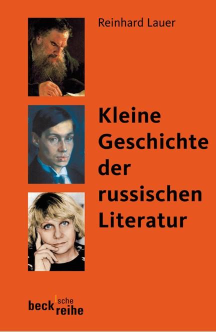Cover: Reinhard Lauer, Kleine Geschichte der russischen Literatur