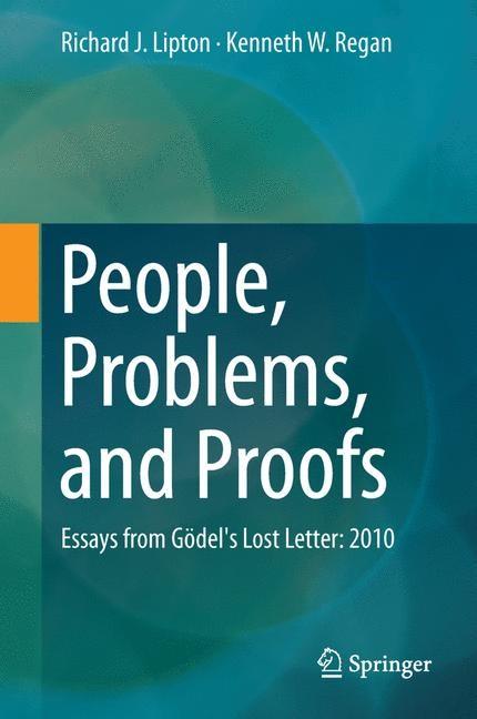Abbildung von Lipton / Regan | People, Problems, and Proofs | 2013