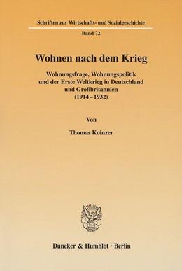 Abbildung von Koinzer | Wohnen nach dem Krieg. | 2002 | Wohnungsfrage, Wohnungspolitik... | 72