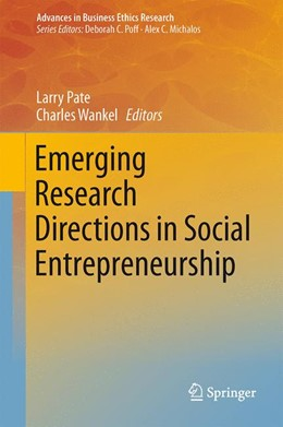 Abbildung von Pate / Wankel | Emerging Research Directions in Social Entrepreneurship | 1. Auflage | 2014 | 5 | beck-shop.de