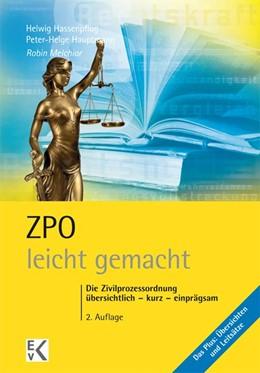 Abbildung von Melchior   ZPO - leicht gemacht   2. Auflage   2013   beck-shop.de