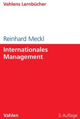 Abbildung von Meckl   Internationales Management   3., überarbeitete Auflage   2014