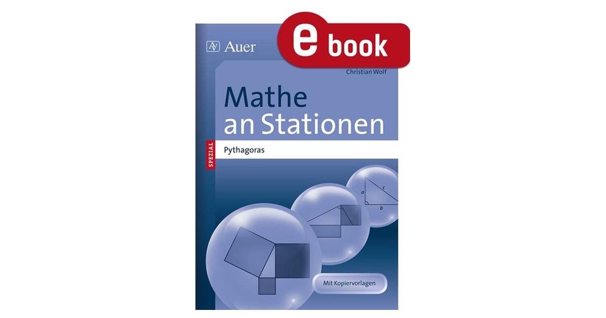Mathe an Stationen Satz des Pythagoras | Wolf | 1. Auflage, 2014 ...