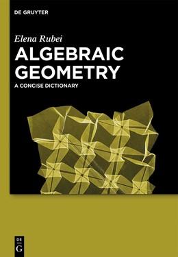 Abbildung von Rubei   Algebraic Geometry   1. Auflage   2014   beck-shop.de