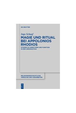Abbildung von Schaaf | Magie und Ritual bei Apollonios Rhodios | 2014 | Studien zur ihrer Form und Fun... | 63