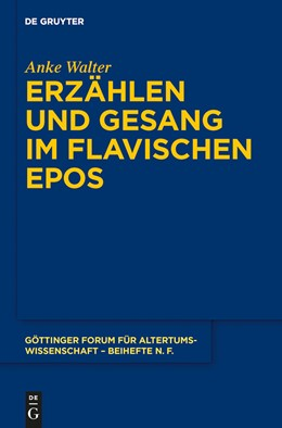Abbildung von Walter | Erzählen und Gesang im flavischen Epos | 1. Auflage | 2014 | 5 | beck-shop.de
