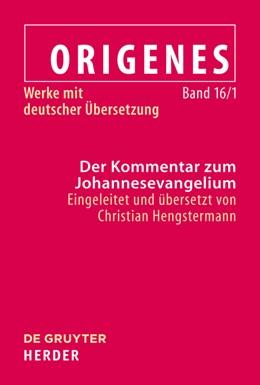 Abbildung von Hengstermann   Der Kommentar zum Johannesevangelium   1. Auflage   2022   beck-shop.de