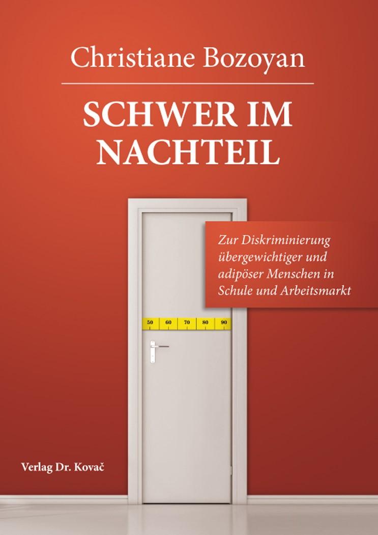 Schwer im Nachteil | Bozoyan, 2014 | Buch (Cover)