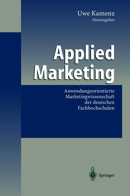 Applied Marketing | Kamenz, 2012 | Buch (Cover)