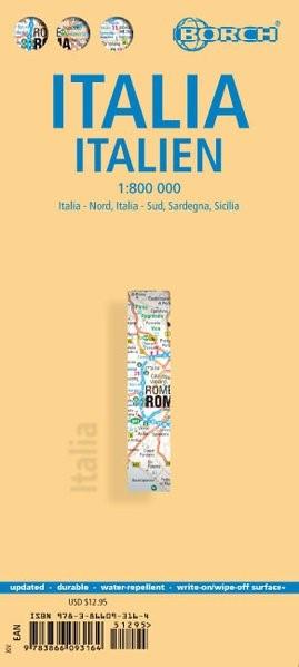 Italia / Italien / Italy 1 : 800 000 | Neuauflage, Nachdruck, 2013 (Cover)