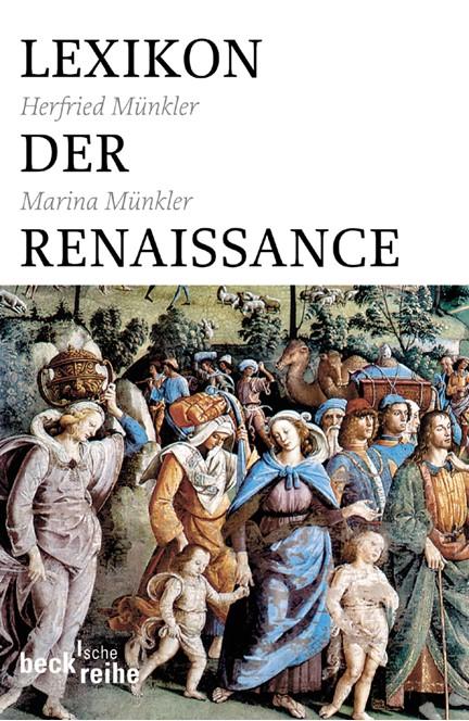 Cover: Herfried Münkler|Marina Münkler, Lexikon der Renaissance
