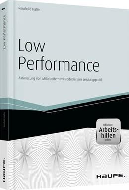 Abbildung von Haller | Low Performance | 1. Auflage | 2014 | 04477 | beck-shop.de