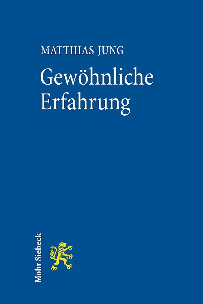 Gewöhnliche Erfahrung | Jung, 2014 | Buch (Cover)