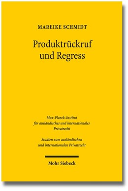 Abbildung von Schmidt | Produktrückruf und Regress | 1. Auflage 2013 | 2013 | 296