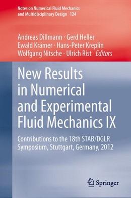 Abbildung von Dillmann / Heller | New Results in Numerical and Experimental Fluid Mechanics IX | 1. Auflage | 2014 | 124 | beck-shop.de