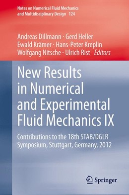 Abbildung von Dillmann / Heller / Krämer / Kreplin / Nitsche / Rist | New Results in Numerical and Experimental Fluid Mechanics IX | 2014 | Contributions to the 18th STAB... | 124