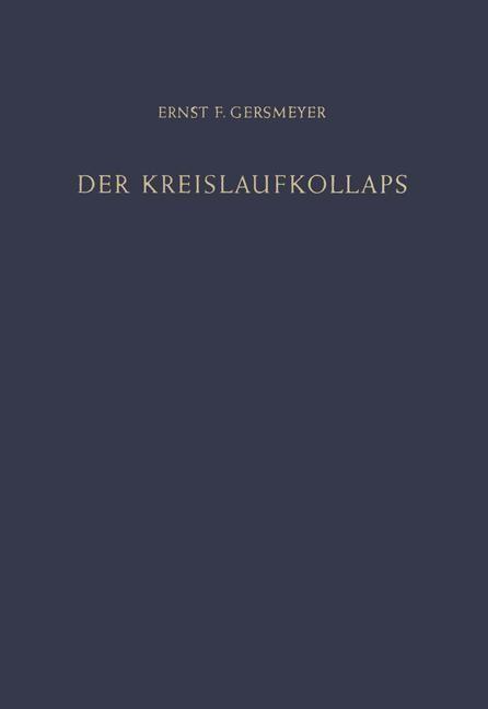 Abbildung von Gersmeyer | Der Kreislaufkollaps | 2012