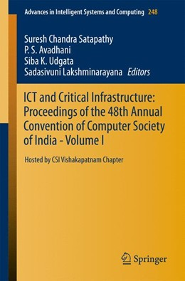 Abbildung von Satapathy / Avadhani / Udgata / Lakshminarayana | ICT and Critical Infrastructure: Proceedings of the 48th Annual Convention of Computer Society of India- Vol I | 2013 | Hosted by CSI Vishakapatnam Ch... | 248